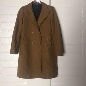 Zara Camel Wool Coat